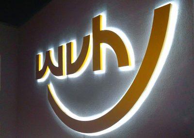 WVH Heidenau | Profil-Buchstaben | Lichtwerbung