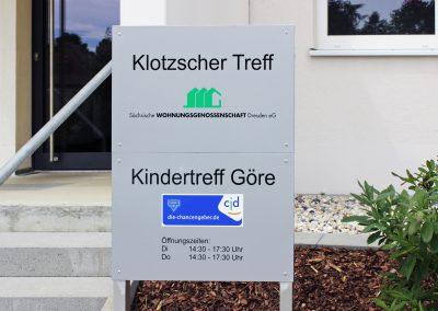 SWG Dresden | Wegeleitsystem