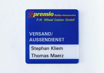 Premio | Wegeleitsystem