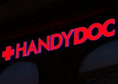 Handydoc | Profil-Buchstaben | Lichtwerbung