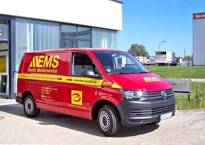 EMS Electric Meisterservice | KFZ-Werbung