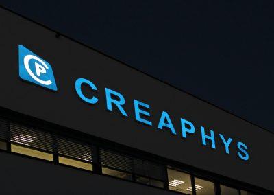 Creaphys | Profil-Buchstaben | Lichtwerbung