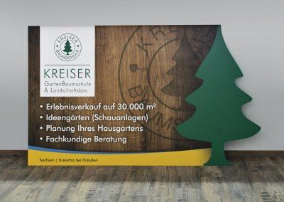 Kreiser | Werbeschild