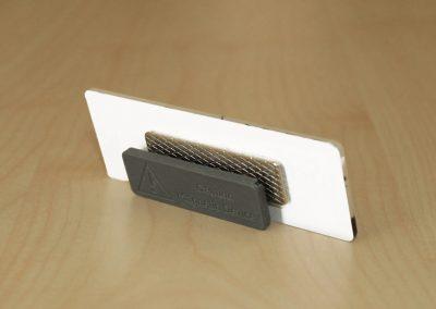 Schilderwerk Dresden | Namensschild | 2mm Acryl UV-Direktdruck + Laserung + Magnethalter