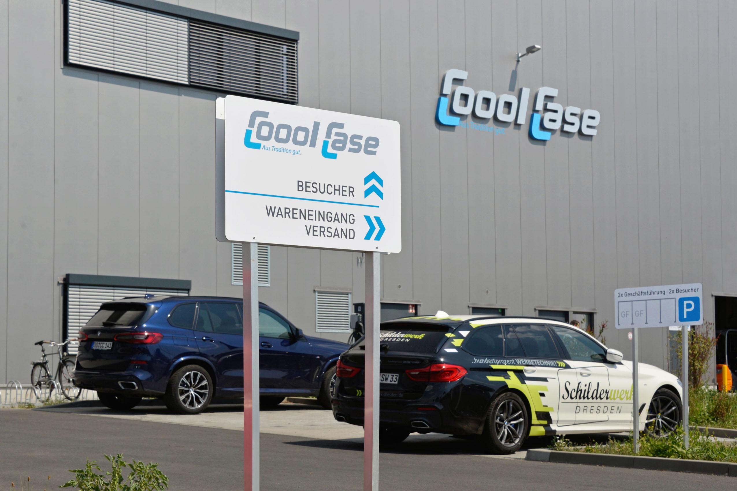 Coool Case | Profil-Buchtaben | Wegeleitsystem