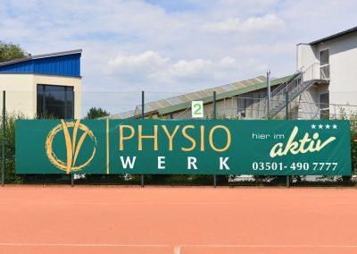 Physio Werk | Werbeplane