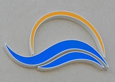 Dresdner Bäder GmbH | Lichtwerbung | Profil-Buchstaben