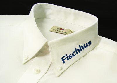 Fischhus | Textildruck