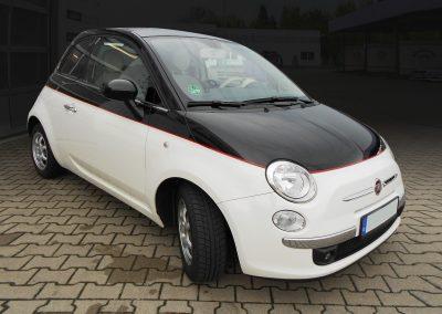 Fiat 500 | Teilfolierung