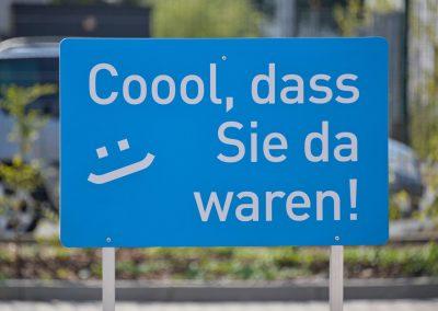 Coool Case | Wegeleitsystem