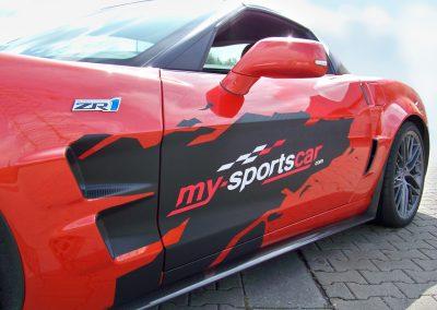 My Sports Car | KFZ-Werbung