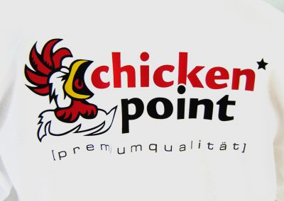 Chicken Point | Textildruck