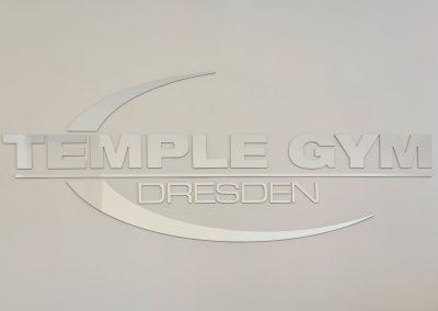 Temple Gym | 3D-Buchstaben