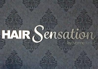Hair Sensation | 3D-Buchstaben