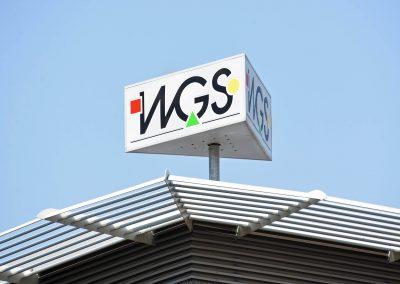WGS Dresden Süd | Lichtwerbung | Rekonstruktion
