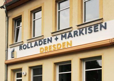 Rolladen + Markisen | 3D-Buchstaben