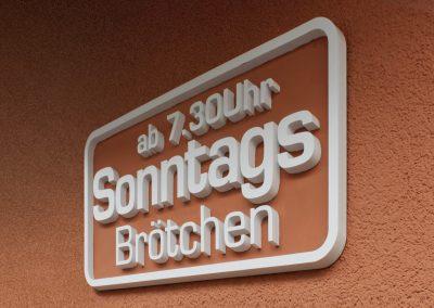 Bäckerei Krause | Profil-Buchstaben