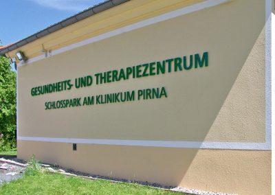 Therapiezentrum | 3D-Buchstaben