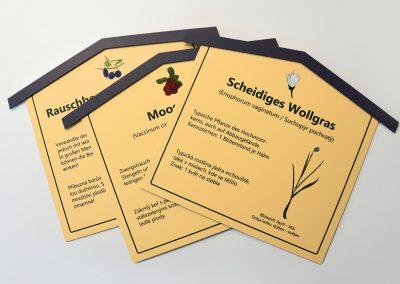 Hochmoor Zinnwald | Werbeschild