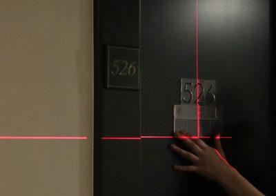 Vienna House | Wegeleitsystem | 3D-Buchstaben - Installation