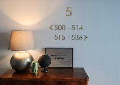 Vienna House | Wegeleitsystem | 3D-Buchstaben
