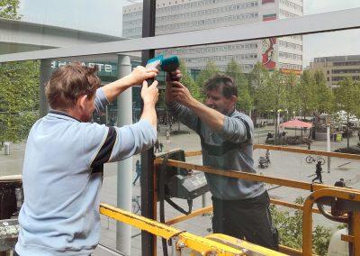 Targobank | Gebäudefolierung | Sonnenschutzfolie