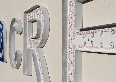 Creaphys Dresden | Höhemontage | Profil-Buchstaben | Lichtwerbung