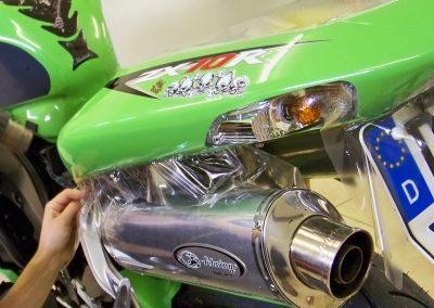 Motorrad | Lackschutzfolie