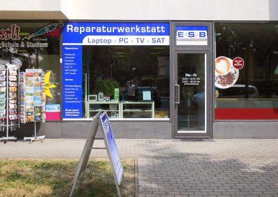 ESB Dresden | Schaufensterwerbung