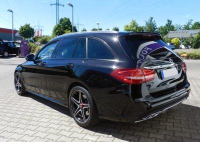 Mercedes Benz C-Klasse | Scheibentönung