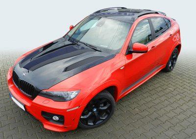BMW X4 | Teilfolierung