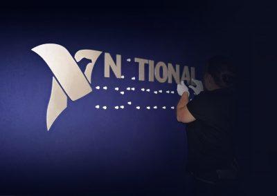 National Instruments | 3D-Buchstaben