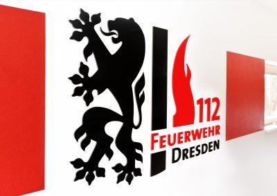 Feuerwehr Lockwitz | 3D-Buchstaben