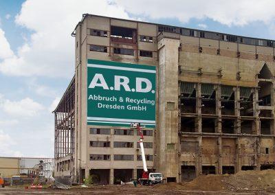 A.R.D. | Werbeschilder & Planen | 21x21m
