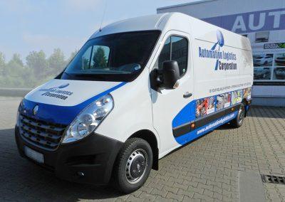 Renault Master | Fahrzeugwerbung