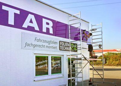 Cleanstar Dresden Werbeschilder & Planen