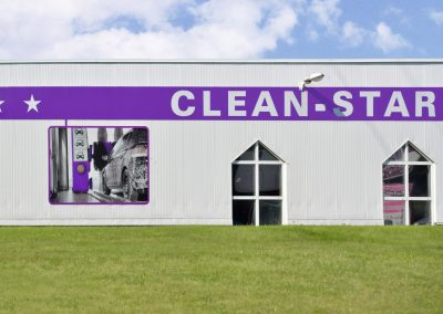 Cleanstar Dresden | Werbeschilder & Planen