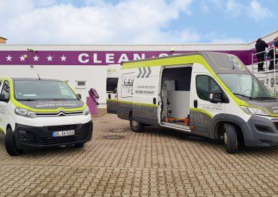 Cleanstar Erfurt | Werbeschilder & Planen