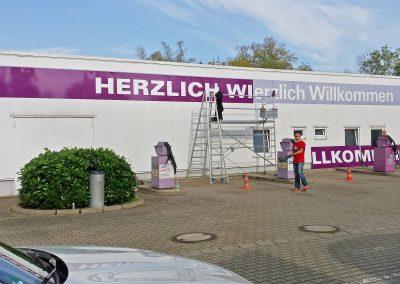Cleanstar Zwickau | Werbeschilder & Planen