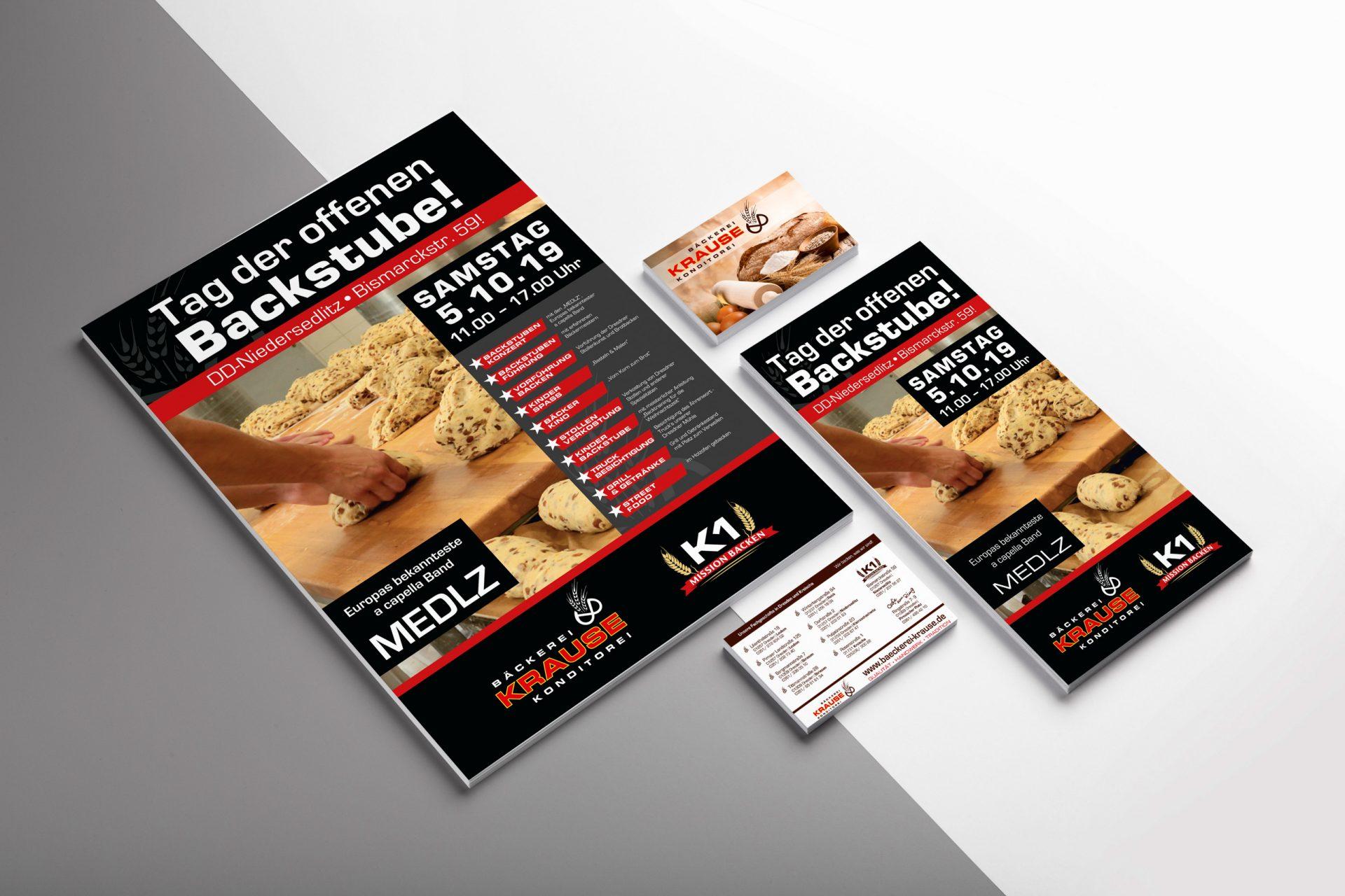 Bäckerei Krause | Drucksachen