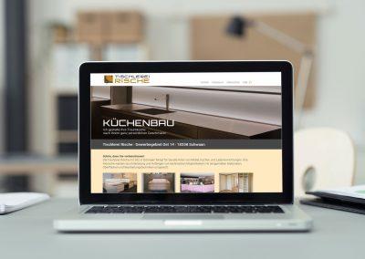 Tischlerei Rische | Webseite | Responsive Design