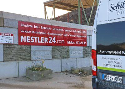 H. NESTLER | Werbeschild