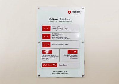Malteser | Wegeleitsystem