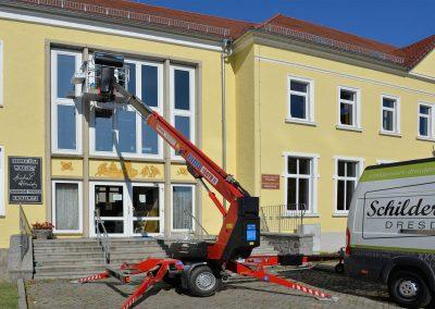 Sorbische Schule Räckelwitz | Gebäudefolierung | Sonnenschutzfolie