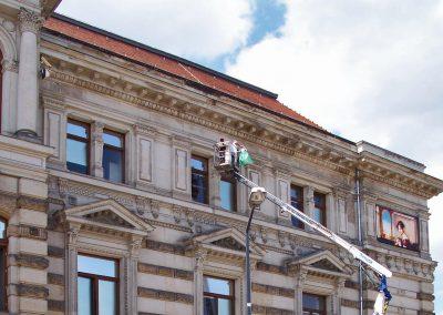 Albertinum Dresden | Gebäudefolierung | Sonnenschutzfolie