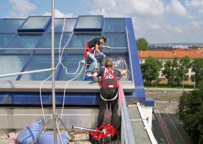SAB Dresden | Gebäudefolierung | Sonnenschutzfolie