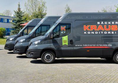 Bäckerei Krause | KFZ-Werbung