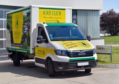 Kreiser GartenBaumschule | KFZ-Werbung